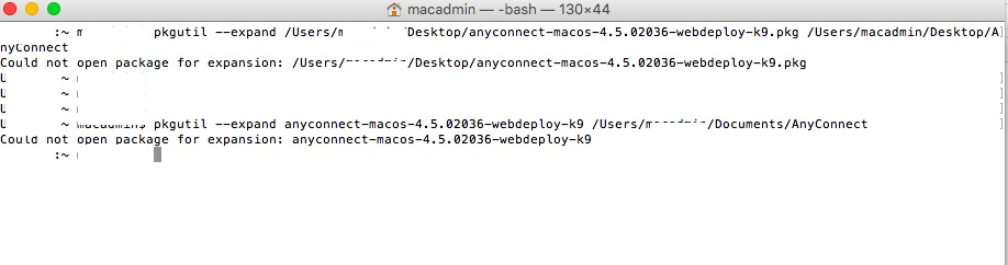 Installing Cisco AnyConnect 4 5 Issues   Discussion   Jamf