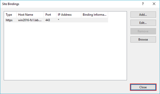 Using IIS to Enable HTTPS Downloads on a Windows Server 2012 or 2016