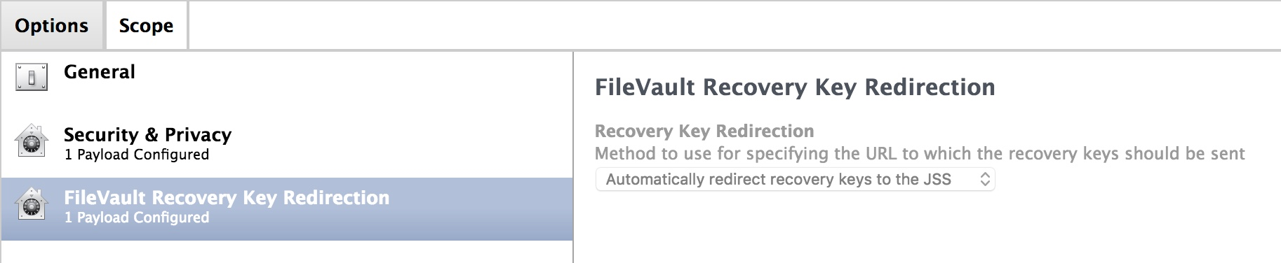 macOS 10 13 High Sierra and Filevault Recovery Key Escrow in JSS