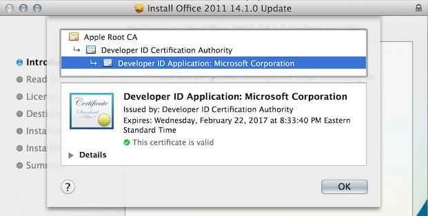 microsoft office 2011 mac update 14.1.0