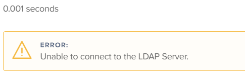 Unable to Connect to LDAP server  | Discussion | Jamf Nation