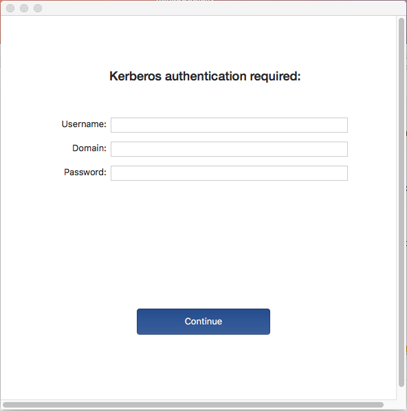 Office 2016 Kerberos authentication required | Discussion