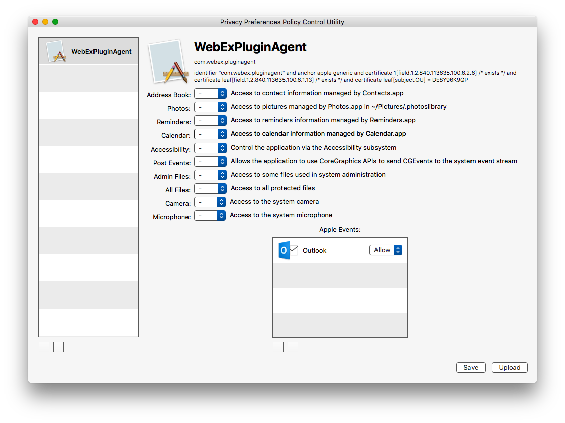 Preparing Your Organization for User Data Protections on macOS 10 14