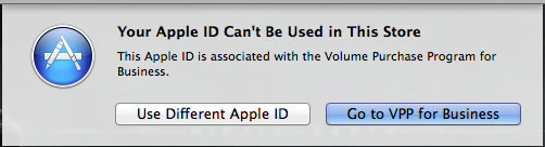 Spontaneous Apple ID - VPP Error | Discussion | Jamf Nation
