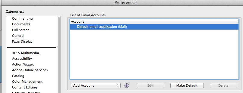 Adobe Acrobat default email account   Discussion   Jamf Nation