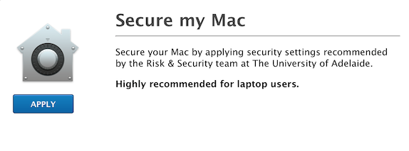 Mac OS X Security Checklist | Discussion | Jamf Nation