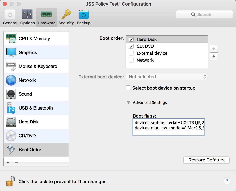 How to enroll a Mac VM running macOS High Sierra hosted by