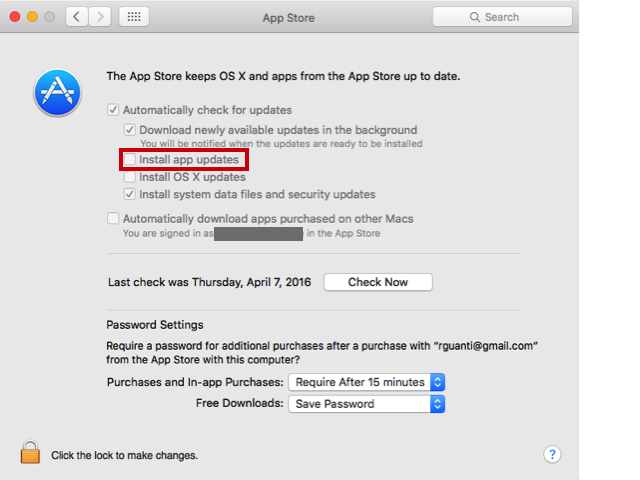 App Store - Install app updates | Discussion | Jamf Nation