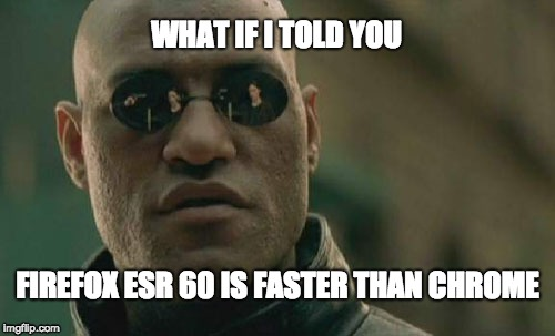 Firefox ESR Download link not downloading version 60 even