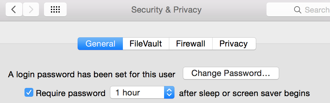 Need some advice on disabling the Require Password on sleep or