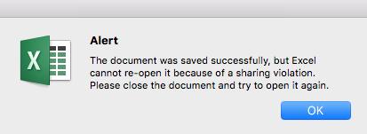 Sharing Violation on Windows file servers when saving