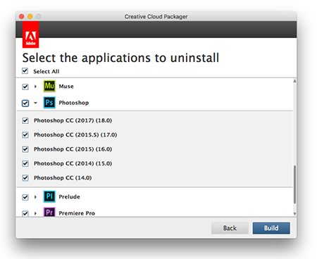 Removing Adobe CC 2015 in preparation for CC 2017