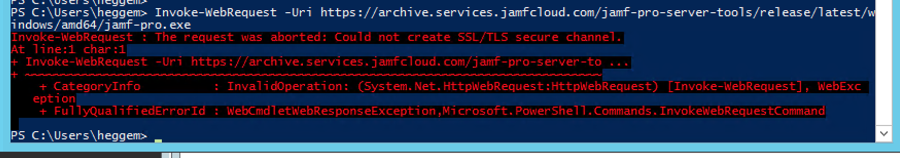Using the Jamf Pro Server Tools Command-Line Interface