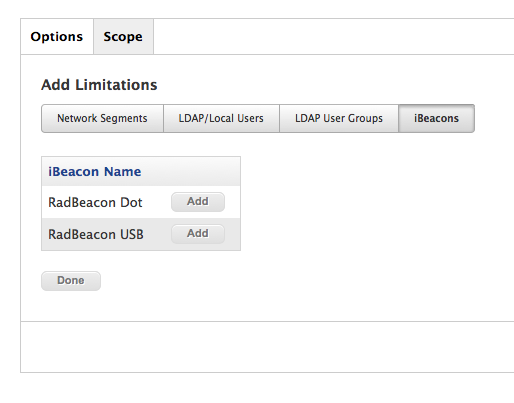 Getting started with iBeacons    help? | Discussion | Jamf