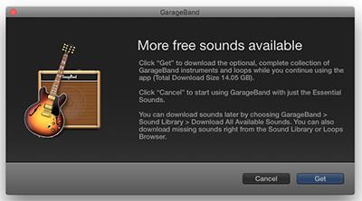Upgrade Garageband, Sound Library missing | Discussion
