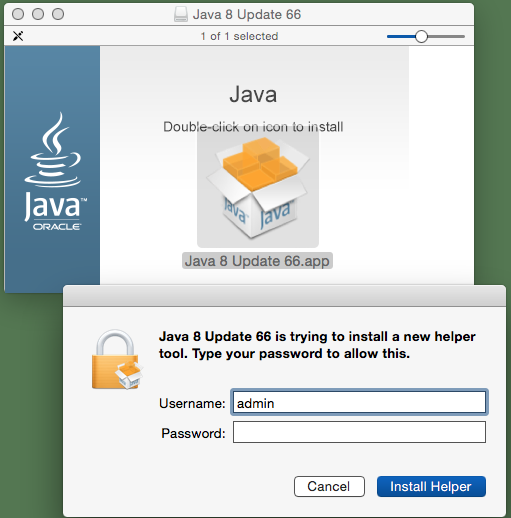 Java 8 Updates 65/66 are now available - Oracle is using an