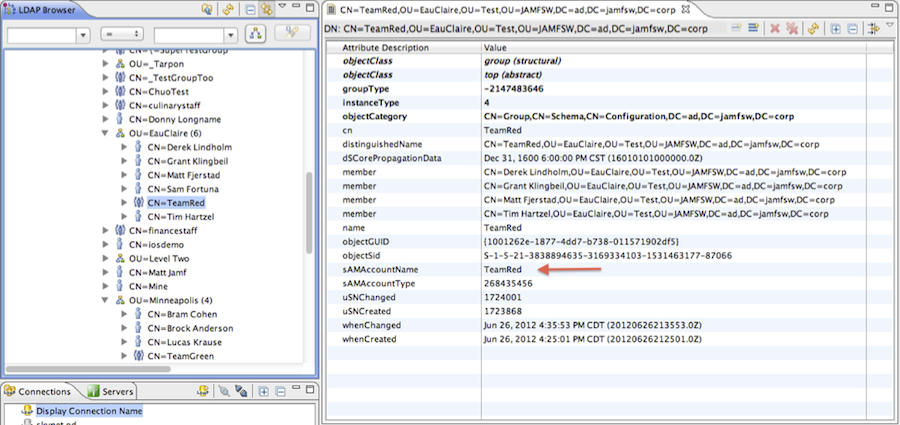 Troubleshooting LDAP Connections to Active Directory Using