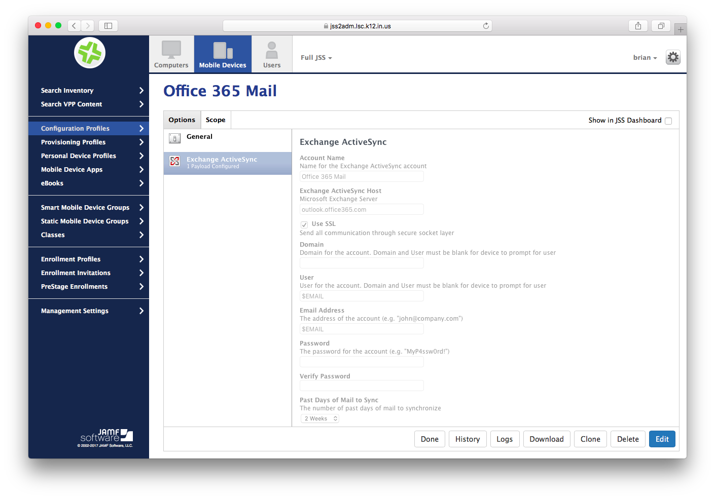 Mail Management iOS (Office 365 Email) | Discussion | Jamf