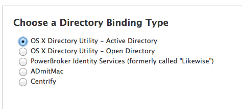 Creation of Active Directory Entry upon Image for Macs? | Discussion