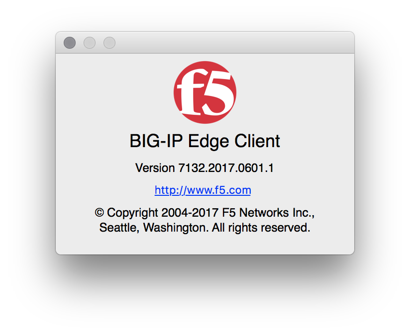 PSA: BigIP VPN not working with 10 12 5 and 2016 Touchbar MBPros