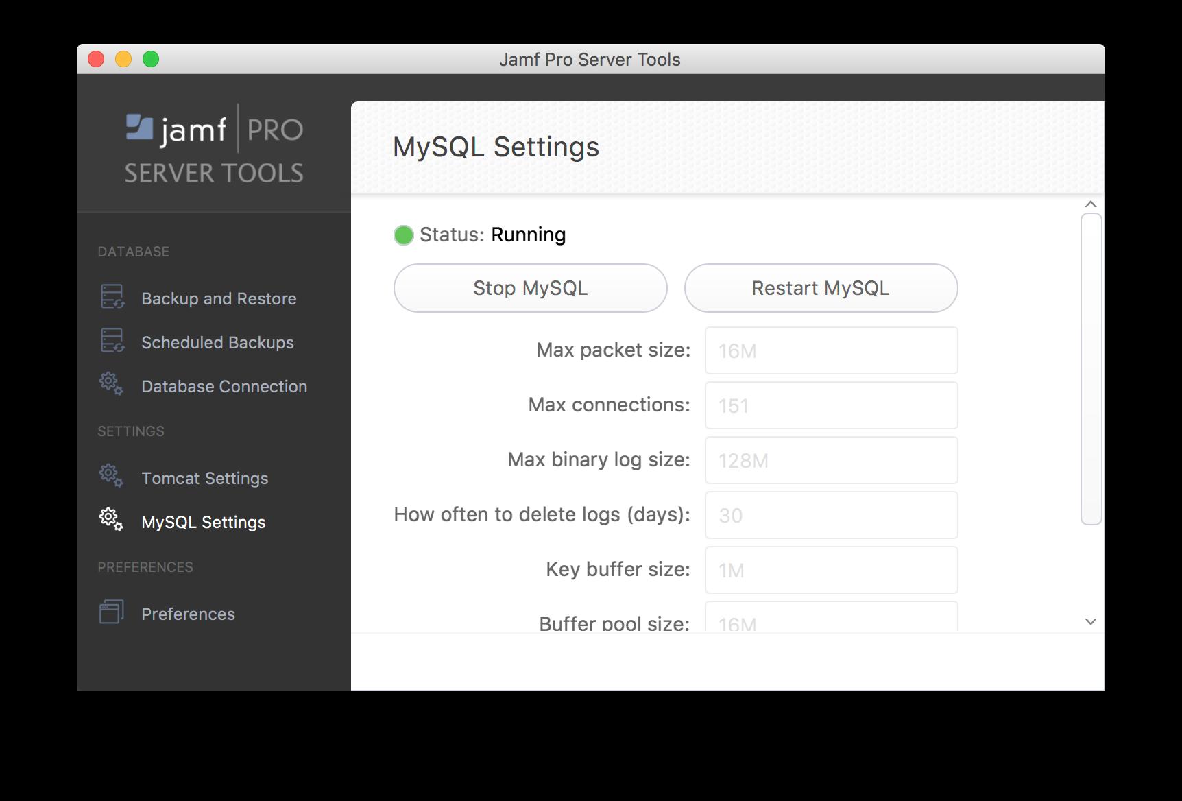 Set mysql path in mac shortcut