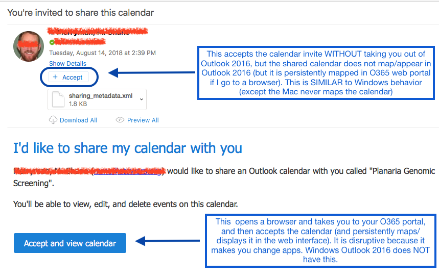 Shared Calendars Mac Outlook 2016 | Discussion | Jamf Nation