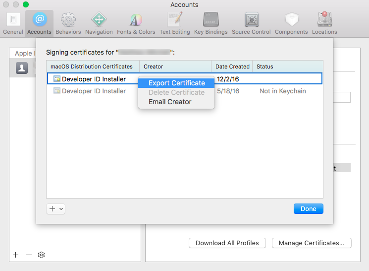 Obtaining an Installer Certificate from Apple | Knowledge Base