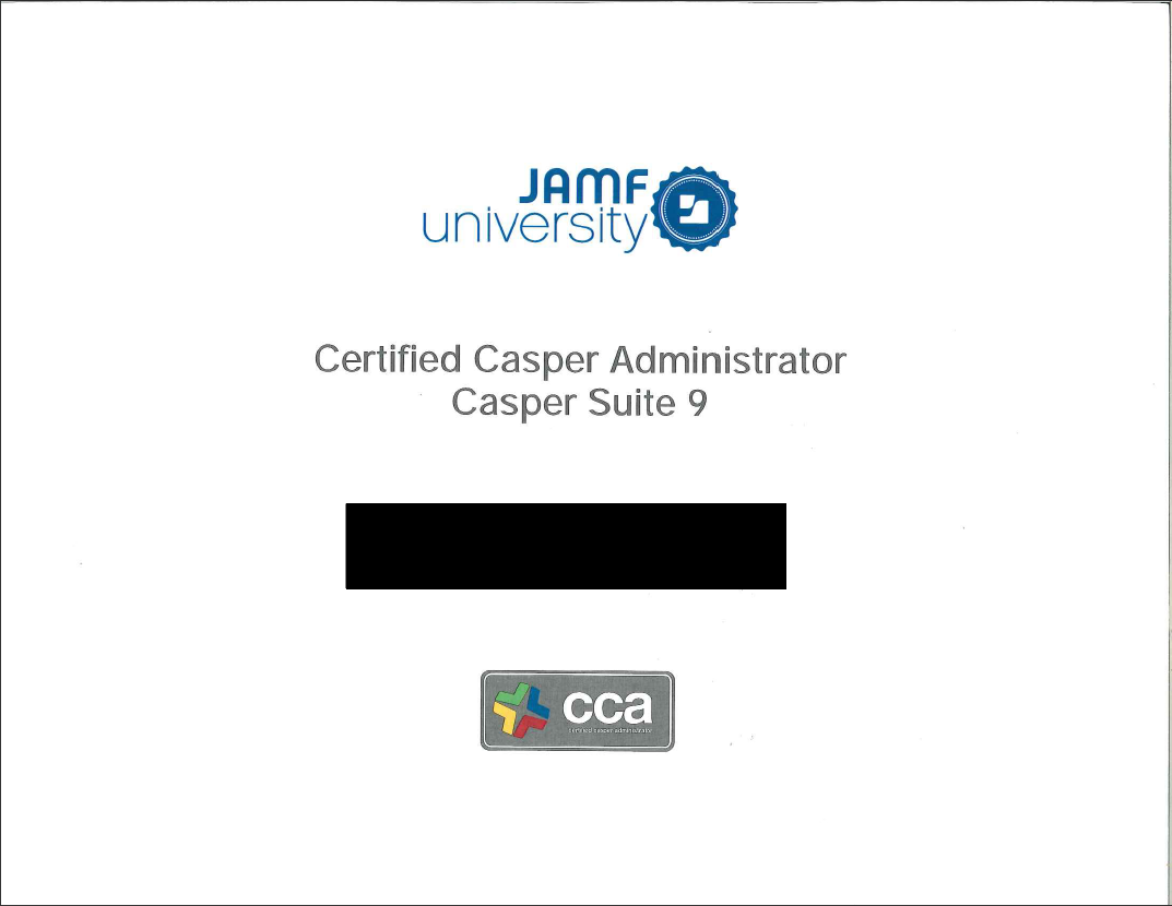 Physical Traing Certificates Feature Request Jamf Nation