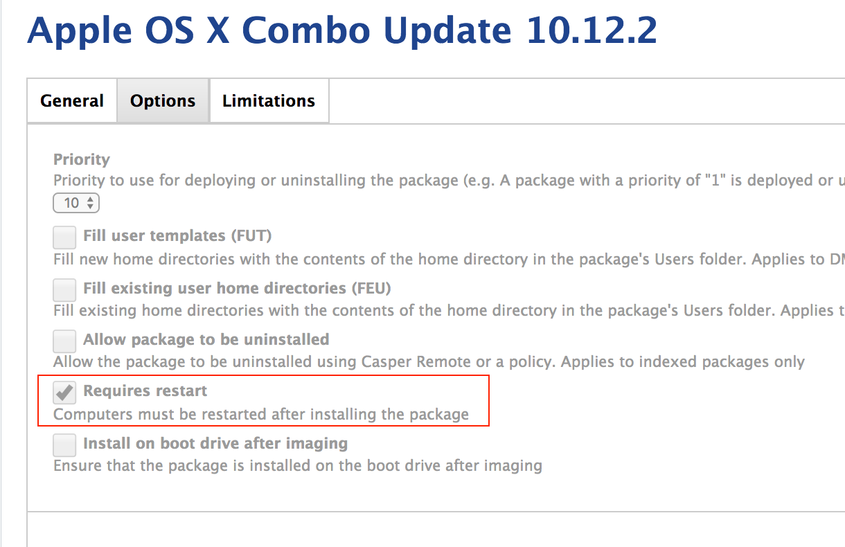Pushing 10 12 2 Combo Updater to logged off Mac, but it is