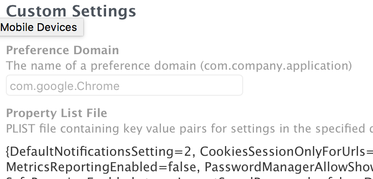 Configuring Google Chrome | Discussion | Jamf Nation