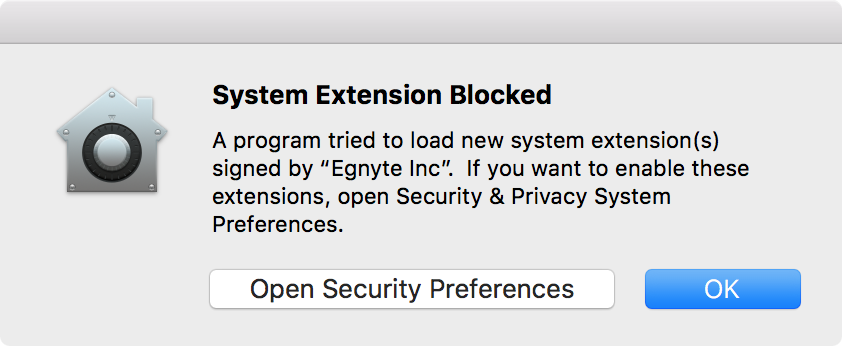 System Extensions blocked after upgrading to High Sierra 10 13 4